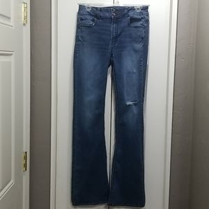 American Eagle LONG Flare/Bell Jeans - sz. 8